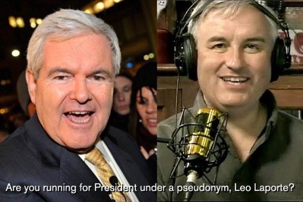 Im Pretty Sure Leo Laporte Is Actually Newt Gingrich Walt